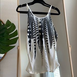 Feather Strappy Tank